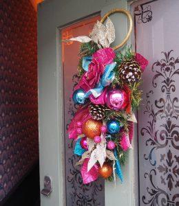 Circus Christmas wreath
