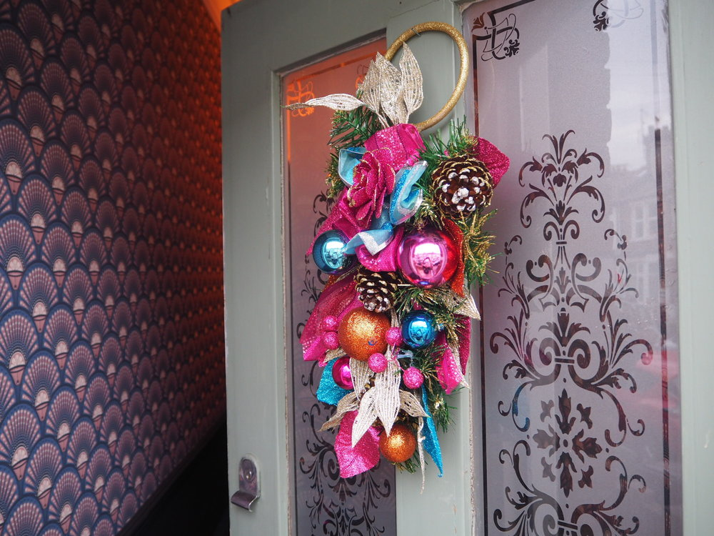 Circus Christmas wreath