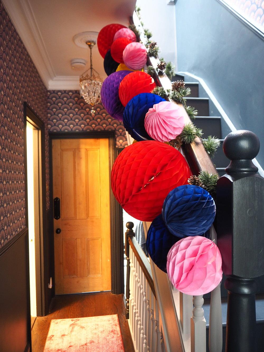 festive bannister @Houselust