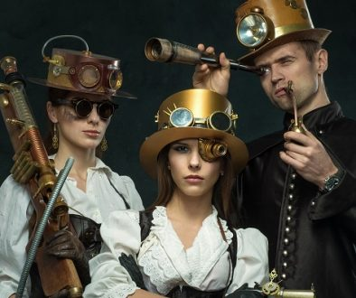 Embrace your rebellious side with a steampunk Christmas!