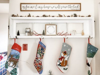 Get the Look: Christmas Country Theme
