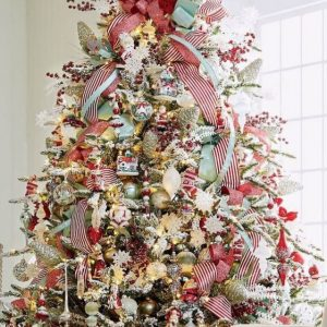 tree topper bow-frontgate
