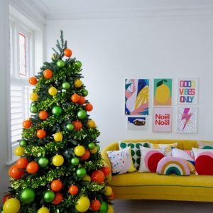a-colourful-orange-and-yellow-christmas-tree