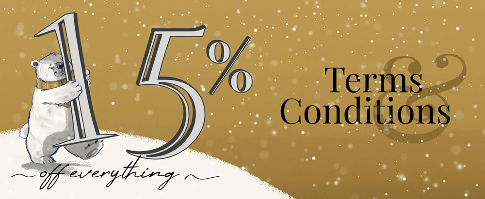 Earlybird Offer - 15% discount from ChristmasTime UK