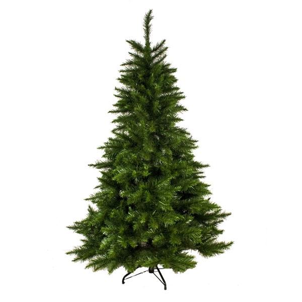 2.1m (7ft) Amblecote Slim Green Artificial Christmas Tree