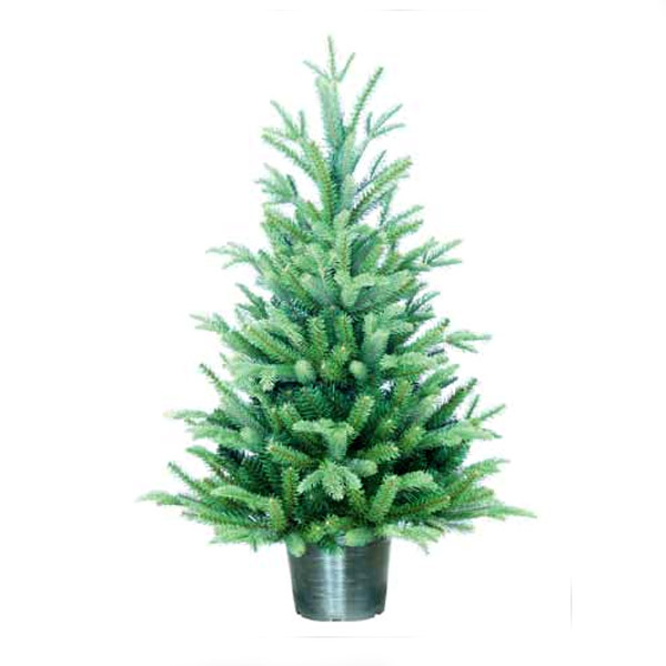 3ft Christmas Trees Artificial: 3ft In Pot Kelso Pine PE Artificial Christmas Tree
