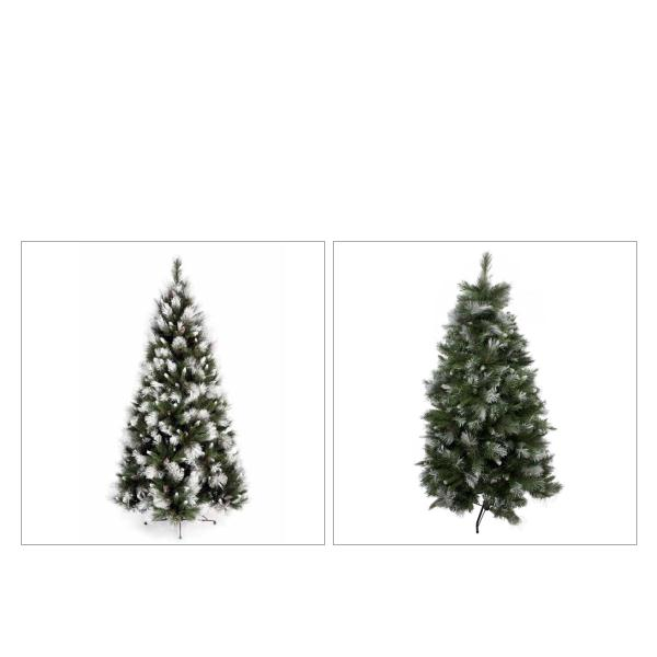 Snow Tipped Green Artificial Tree