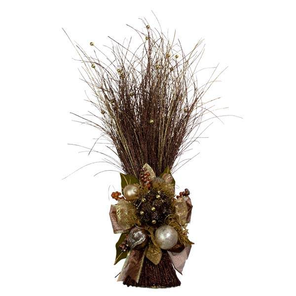 Chocolate Orange Room Decoration Collection - Ting Ting Grass Arrangement