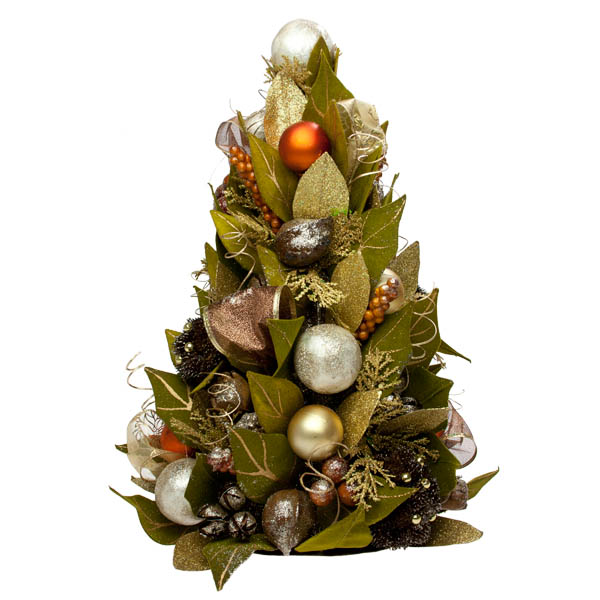 Chocolate Orange Room Decoration Collection - Table Top Tree