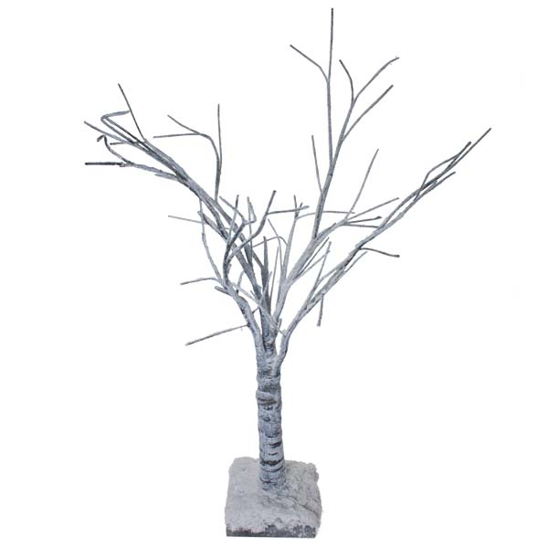 Birch Twig Snowy Paper Tree - 70cm (2.3ft)