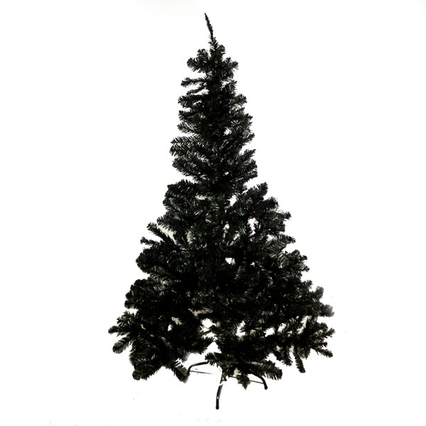 Imperial Pine Black Artificial Christmas Tree - 1.8m (6ft)