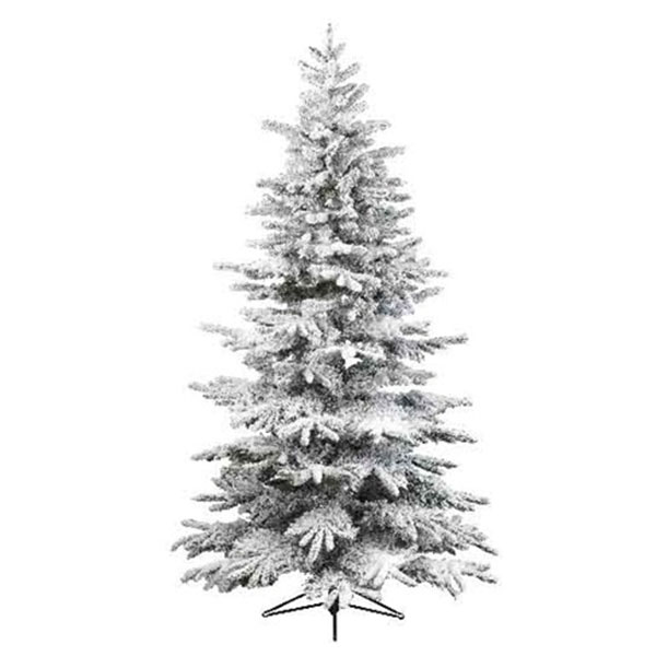 Snowy Alaskan Fir Artificial Christmas Tree - 1.2m (4ft)