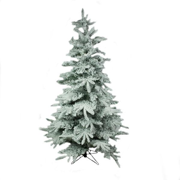 Snowy Alaskan Fir Artificial Christmas Tree - 2.4m (8ft)