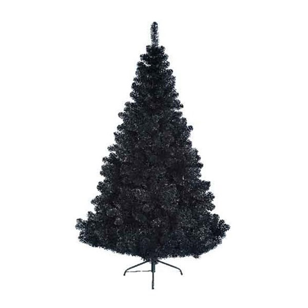 Black Artificial Christmas Trees: Imperial Pine Black Artificial Christmas Tree