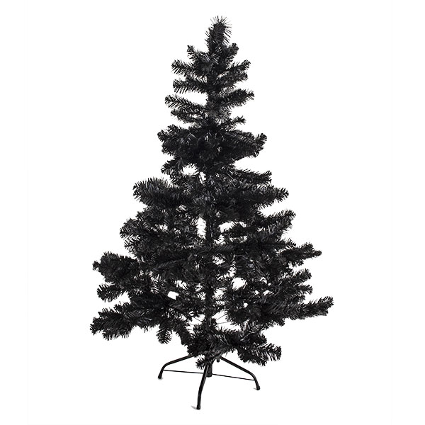 Imperial Pine Black Artificial Christmas Tree - 2.1m (7ft)