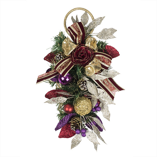 Spiced Wine Christmas Room Decoration Collection - Door Hanger
