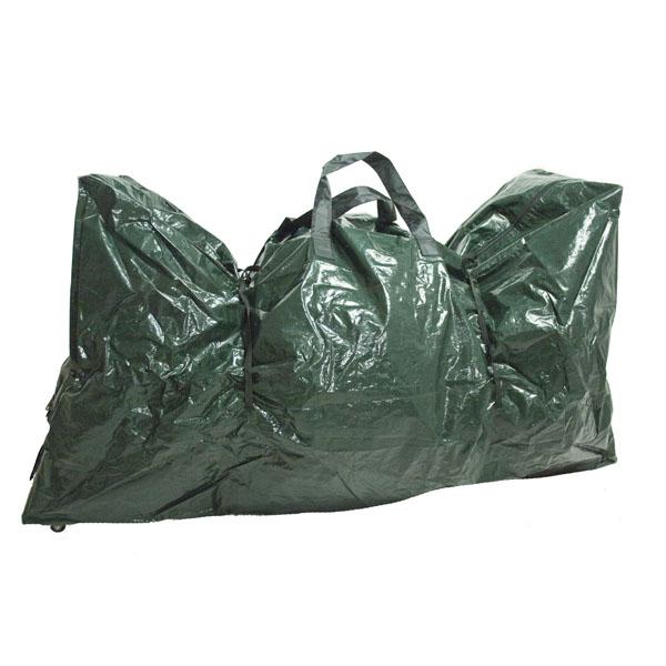 Green Tree Storage Bag On Wheels - 30cm X 127cm X 70cm