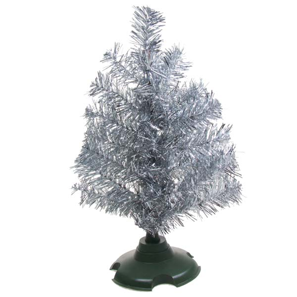 Silver Tabletop Tree - 30cm