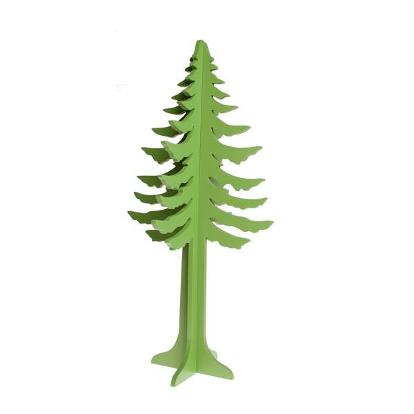 Gisela Graham Green 3D Cut Out Tree - 60cm