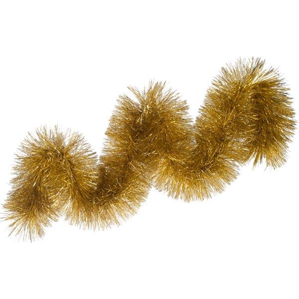 Gold Chunky Tinsel - 2m x 25cm