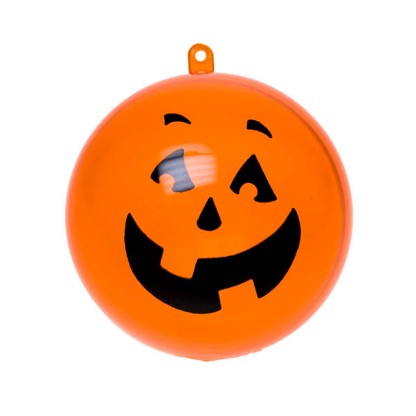 Orange Halloween Splittable Bauble - 100mm