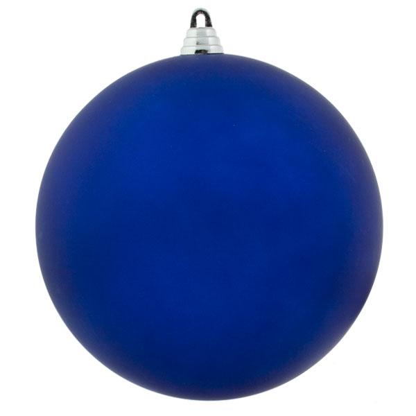 Blue Shatterproof Baubles  - Single 200mm Matt