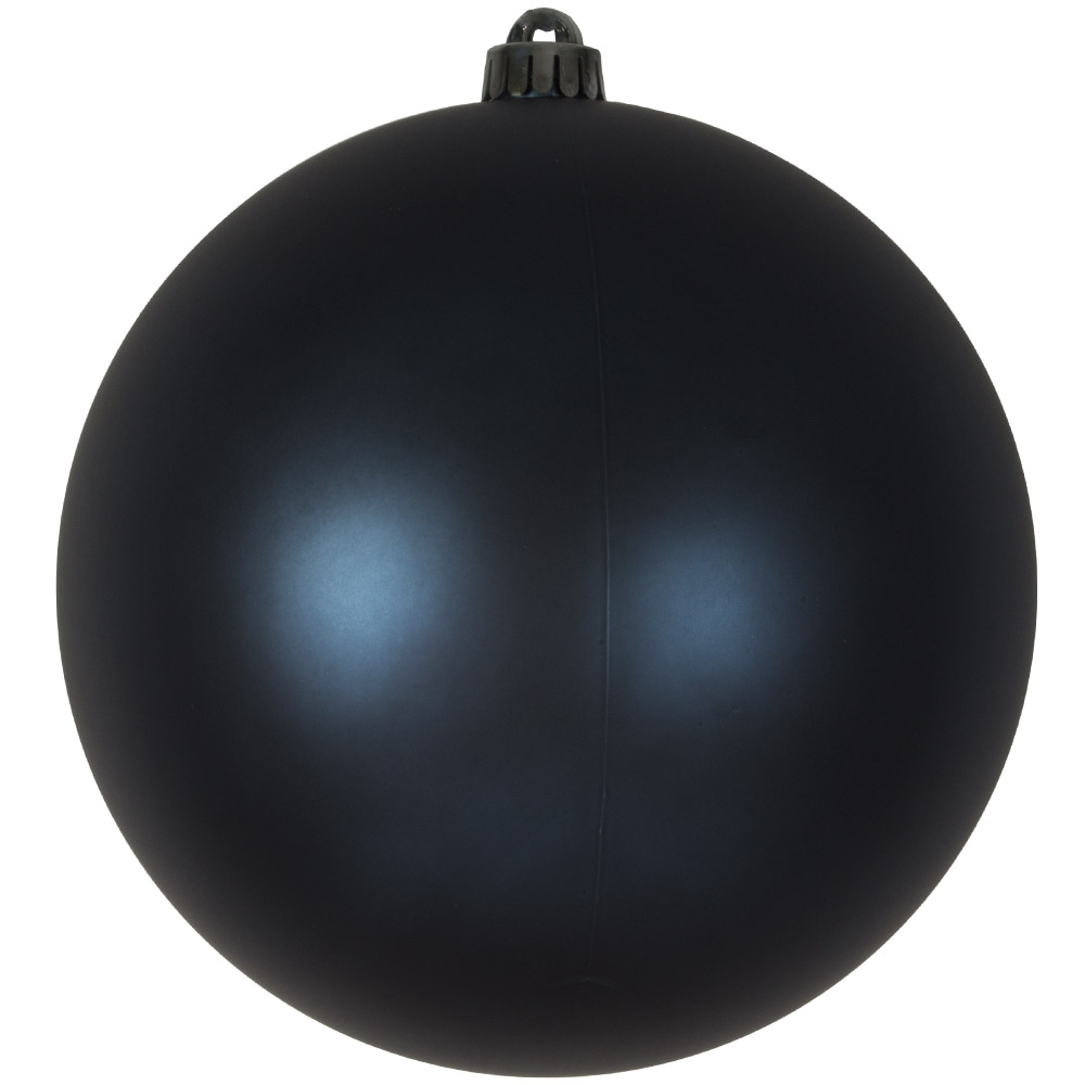 Dark Blue Shatterproof Baubles  - Single 200mm Matt