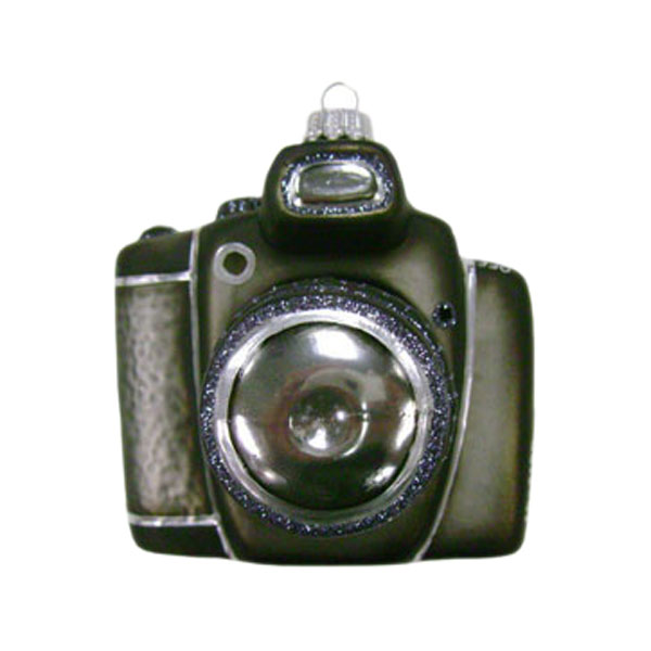 Krebs Glas Lauscha Collectable Glass Camera - 9cm
