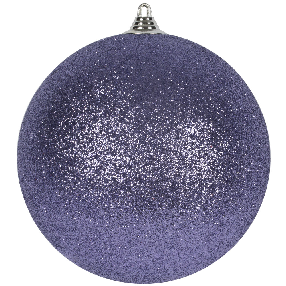 Purple Haze Shatterproof Glitter Bauble - 135mm