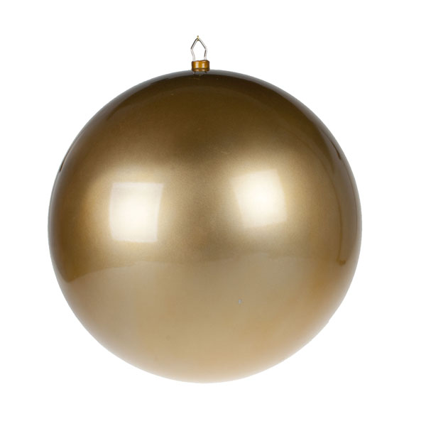 Gold Metallic Finish Shatterproof Bauble - 600mm