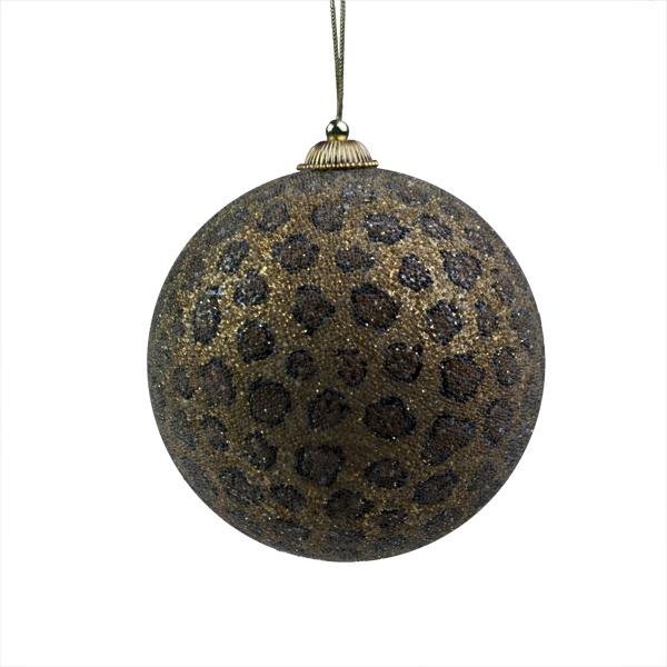 Large Beaded Cheetah Ball