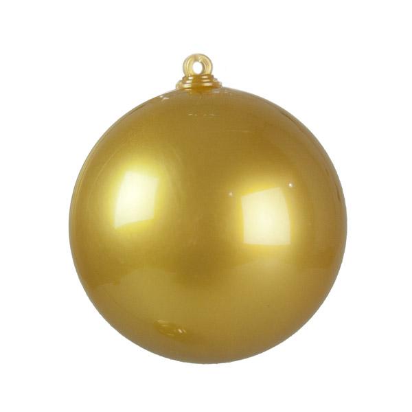 Gold Opaque Splittable Bauble - 60mm
