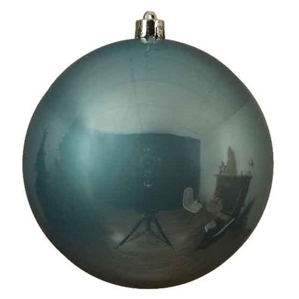 Arctic Blue Fashion Trend Shatterproof Baubles - Single 140mm