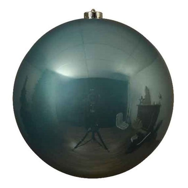 Arctic Blue Fashion Trend Shatterproof Baubles - Single 200mm