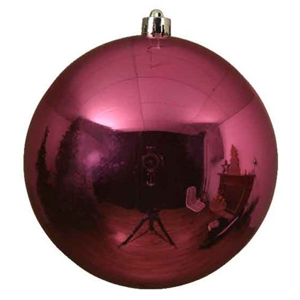Bubblegum Pink Fashion Trend Shatterproof Baubles - Single 140mm