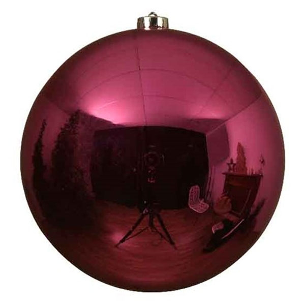 Bubblegum Pink Fashion Trend Shatterproof Baubles - Single 200mm