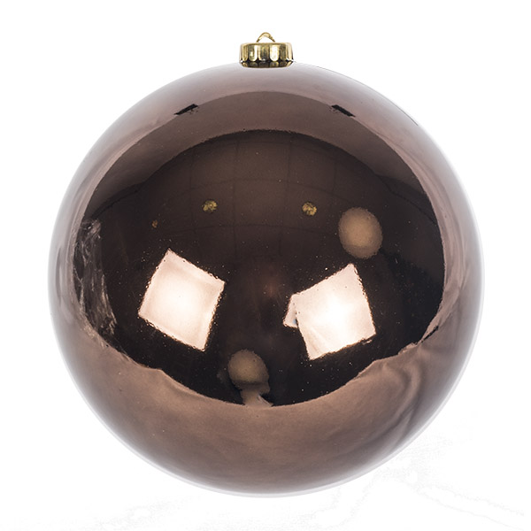 Brown Fashion Trend Shatterproof Baubles - Single 200mm