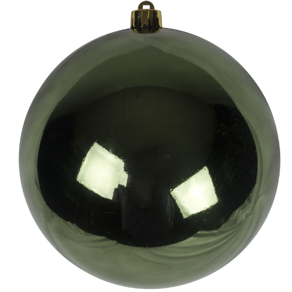 Dark Green Fashion Trend Shatterproof Baubles - Single 140mm