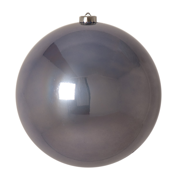 Hazy Lilac Fashion Trend Shatterproof Baubles - Single 200mm