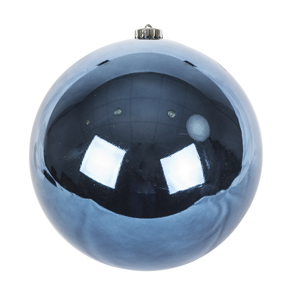 Night Blue Fashion Trend Shatterproof Baubles - Single 200mm