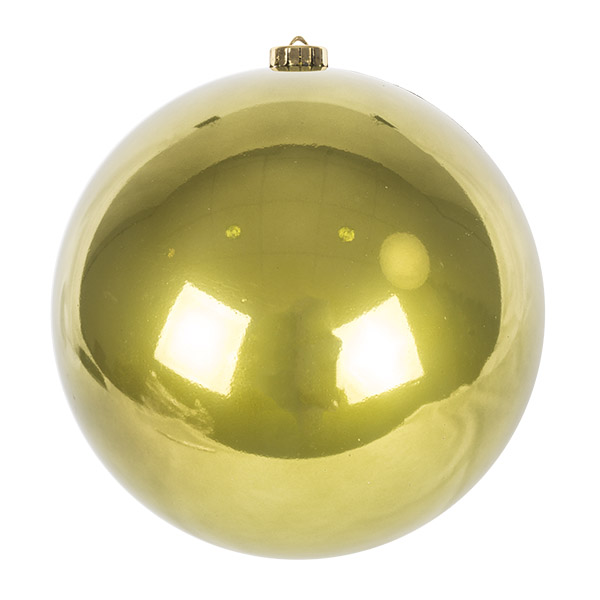Olive Green Fashion Trend Shatterproof Baubles - Single 200mm