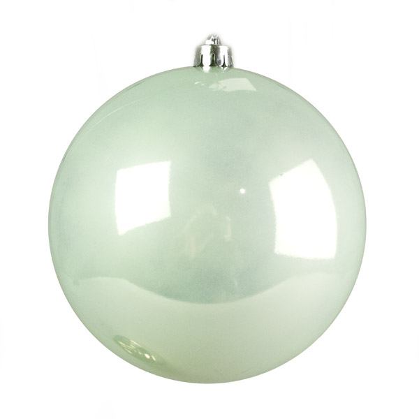 Pale Mint Fashion Trend Shatterproof Baubles - Single 200mm
