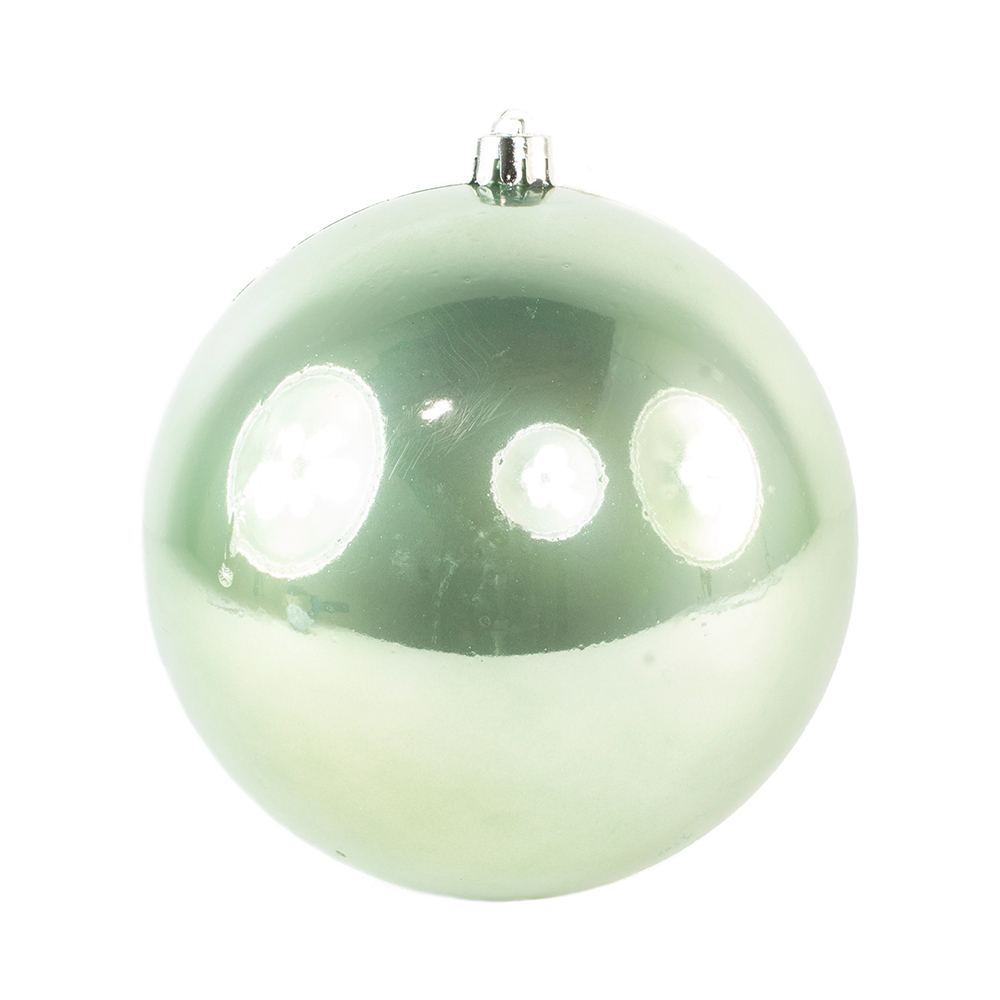Sage Green Fashion Trend Shatterproof Baubles - Single 140mm