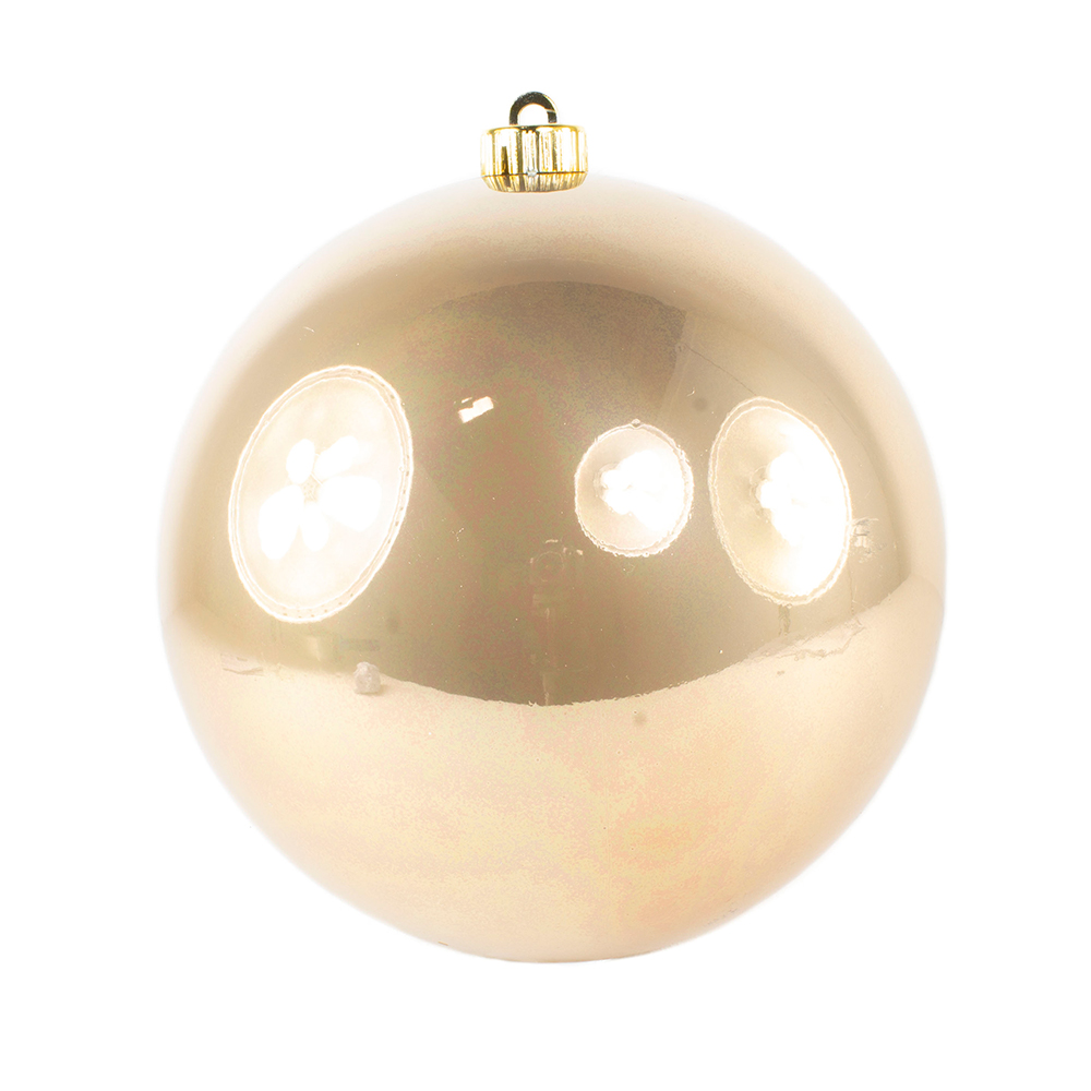Soft Caramel Fashion Trend Shatterproof Baubles - Single 200mm