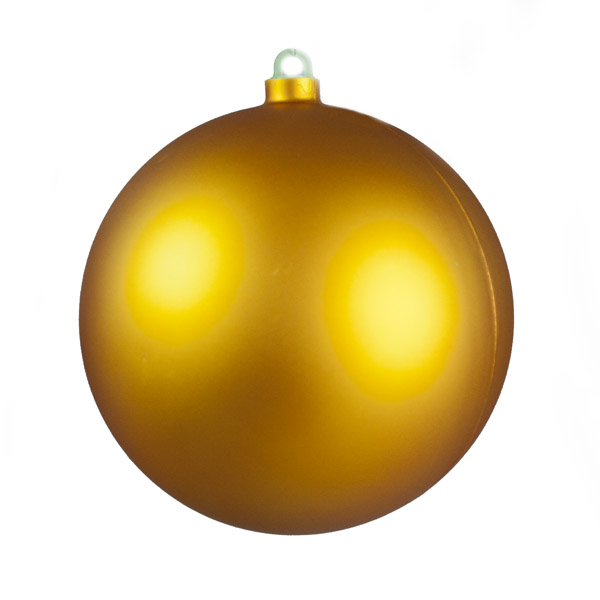 Matt Rose Gold Shatterproof Bauble - 600mm