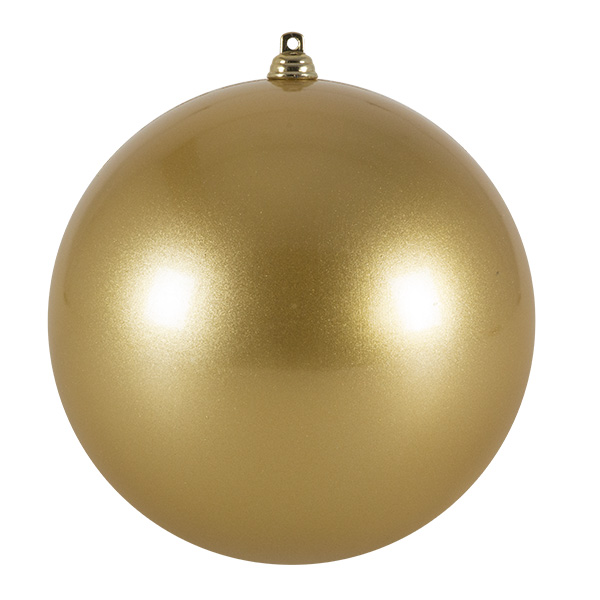 Gold Metallic Finish Shatterproof Bauble - 140mm