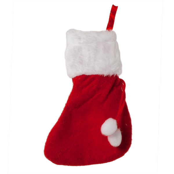 Christmas Stockings - Hanging Mini Christmas Stocking - 15cm