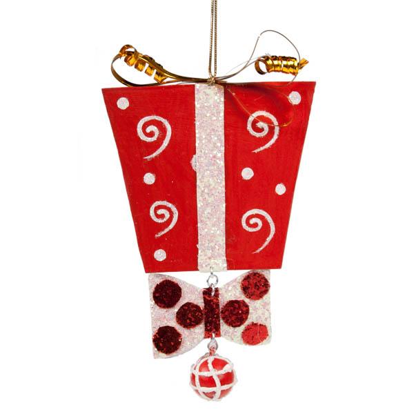 Gift Box Decoration - 11cm X 18cm