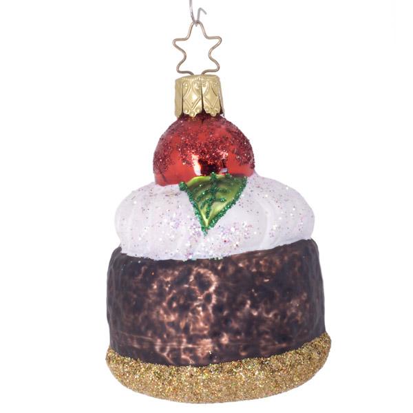 Inge-Glas 9cm Iced Cherry Bun