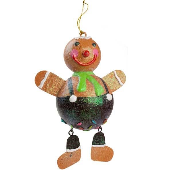 Gingerbread Hanging Decoration - 17cm